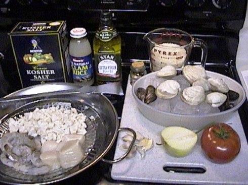 Paella Ingredients