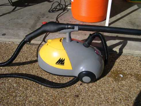 God Bless Freight and Harbor!  Cheap steam cleaner.