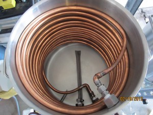 Mash Tun, Kettle Screen, Temp Probe, HLT heat transfer