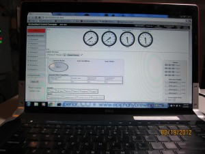 HTML interface to the BCS-460